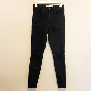 Garage Black Skinny Jeans Size 3